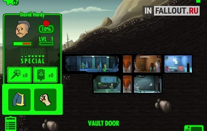 нехватка воды fallout shelter