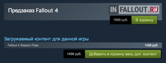 Season Pass Fallout 4 Steam